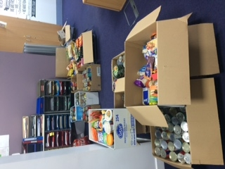 Food Bank Collection for Dress Down Day Icon